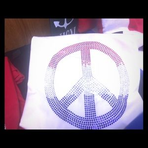 Tops - Bling Peace tee